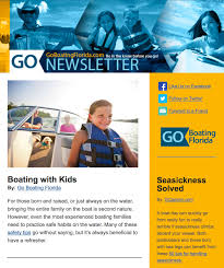 News Letters Newsletters Go Boating Florida