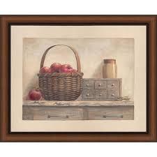 vivian flasch country living i framed print art