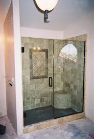 mesa frameless shower door