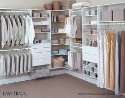 custom white closet system brun lumber