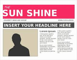 Newspaper Article Word Template Free Newspaper Article Template Shooters Journal