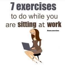 7 exercises you can do while sitting down improve flexibility and muscle tone clenches for buns of steel clench your ocks and hold for ten seconds