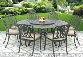 patio table seats 8 cast aluminum outdoor set dining chairs sets 52 round person outd