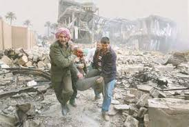 Image result for bombing of baghdad image