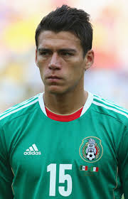 Hector Moreno of Mexico looks on prior to the FIFA Confederations Cup Brazil 2013 Group A match between Mexico and Italy at the Maracana Stadium on ... - Hector%2BMoreno%2BMexico%2Bv%2BItaly%2BUe_RG-UW2Ijl