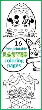 Choose your favorite coloring page and color it in bright colors. 16 Super Cute And Free Easter Printable Coloring Pages For Kids