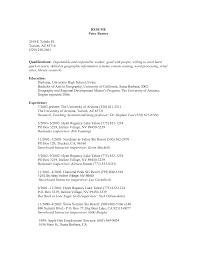 Supervisor Job Description For Resume Resume Ideas