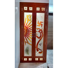 designer glass door at rs 180 square