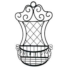 wrought iron wall planter wrought iron wall planters arched iron wall decor indoor outdoor metal wall