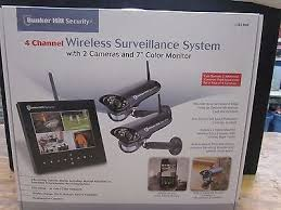 0792363623681 - NEW BUNKER HILL WIRELESS SURVEILLANCE SYSTEM 62368 4 CHANNEL SECURITY