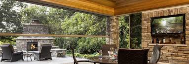 patio and screened porch