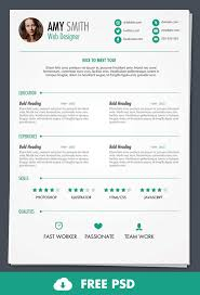 Resume Free Best Free PSD Print Ready Resume Template By AinsleyB On DeviantArt