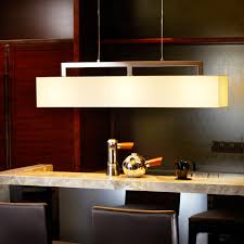 contemporary style e27 light source fabric shade rectangular pendant lamp