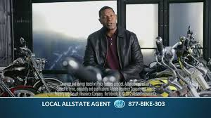 allstate tv commercial for motorcycle insurance featuring dennis haysbert ispot tv
