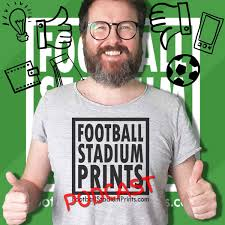 Football Stadium Prints Podcast