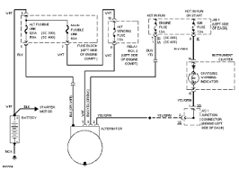 1992 lexus sc400 charging circuit and wiring diagram