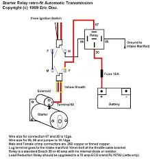 12v starter solenoid wiring diagram wiring diagram 12 volt solenoid wiring diagram 4 post diagrams