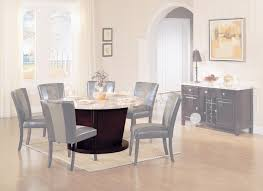 Round Granite Kitchen Table Dining Tables Round Dining Table White Marble Top Af 17148 0
