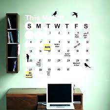 dry erase calendar wall calendar wall decals calendar wall decal dry erase wall calendar decal wall