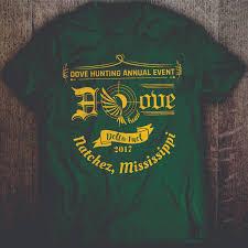 Dove Design T Shirts Upmarket Professional Hunting T Shirt Design For Delta