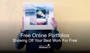Your Free Online Best Free Online Portfolio Creators 2019 Showing Off Your Best