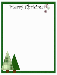 Free Christmas Stationery Templates Cute 7 Best Of Free Printable