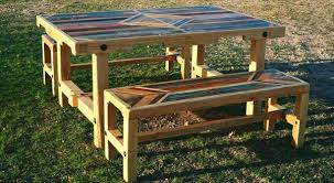 pallet dining table diy wood archives
