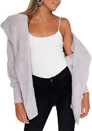 BTFBM <b>Women Casual</b> Long Sleeve Cardigan Warm Hooded ...