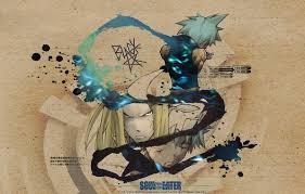 wallpaper anime soul eater black star