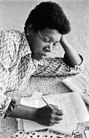 a angelou routine matters  a angelou working in 1974