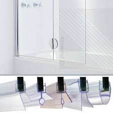 details about bath shower screen door seal strips for glass thickness 4mm 5mm 6mm