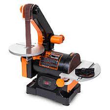 table belt sander. wen 1 x 30-inch belt sander with 5-inch sanding disc table