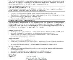 Communication Skills Examples For Resume Resume Communication Skills