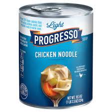 Progresso Light Chicken Noodle Soup Calories Progresso Light Chicken Noodle Soup 18 5 Oz Products