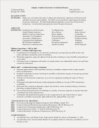 Lovely Quality Technician Resume Atclgrain Lab Unique Help