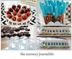 Beautiful Garden Baby Shower Guest Dessert Feature  Amy Atlas EventsBaby Shower Chocolate Strawberries