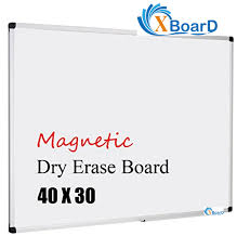xboard 48x36 inch magnetic dry erase