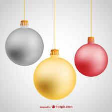 hanging christmas ornaments vector.  Vector Hanging Christmas Balls Free Vector To Ornaments