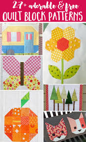 Free Designs For Quilts 27 Free Quilt Block Patterns