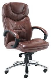 3911 2 brown leather office chair brown leather office chairs