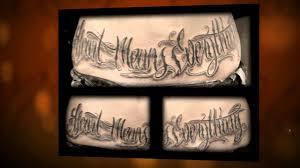 шрифт для татуировок подбор шрифта для тату красивые шрифты для