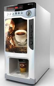 Instant Coffee Vending Machine Delectable Hot Sale Instant Coffee Vending Machine F48V With Cup Dispenser And