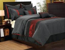 grey king bedding set red and gray bedding attractive sets design ideas decorating with in black