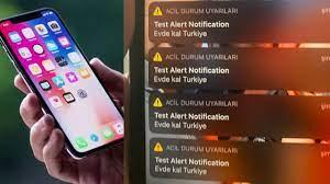 iPhone'lara gelen acil uyarı bildirimi ne? Test Alert Notification nasıl  kapatılır?