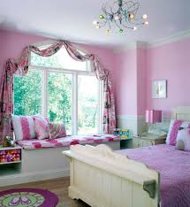 Pink Bedroom Curtains Teen Bedroom Curtains And Valances
