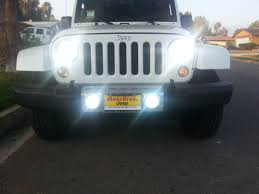 Jeep JK with HID fogs