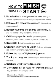 best growth mastery self improvement personal development how to finish what you start manifesto