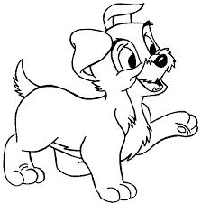 Cucciolo Di Cane Disegni Da Colorare Gratis Disegni Da Colorare E