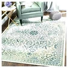 threshold accent rug blue cream light solid loomed area jute white fl rugs two navy