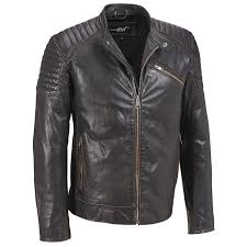 Black Rivet Mens Quilted Leather Jacket W/Accordion Sides at ... & Black Rivet Mens Quilted Leather Jacket W/Accordion Sides at Amazon Men's  Clothing store: Adamdwight.com